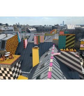 Photographie et dessin numérique Paris Memphis de Stéphane Franck Berthelot - SfB - Tour Montparnasse