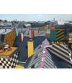 Photograph and digital drawn Paris Memphis by Stephane Franck Berthelot - SfB - Montparnasse Tower