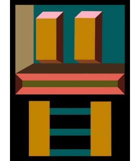 Digital drawing Memphis 3 by Stéphane Franck Berthelot
