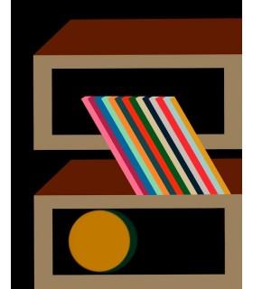 Digital drawing Memphis 4 by Stephane Franck Berthelot