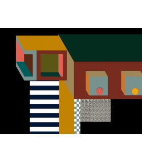 Dessin digital Memphis 6 de Stéphane Franck Berthelot- SfB