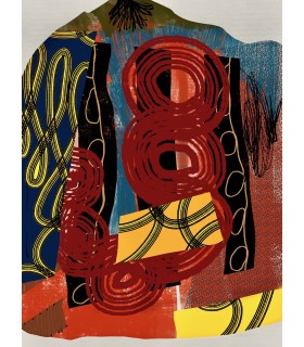Digital Composition VI by Stephane Franck Berthelot