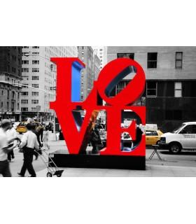 Love New York rouge par Mathieu Lamson
