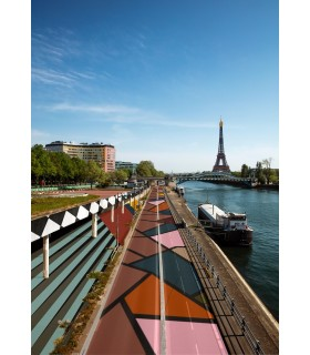 Paris Memphis Quai de Seine by Stephane Franck Berthelot