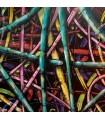 Peinture sur toile Bamboo par Mush street art