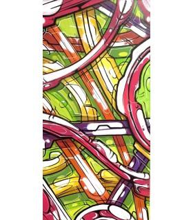 Acrylique sur toile Tutti Fruts par Mush street art