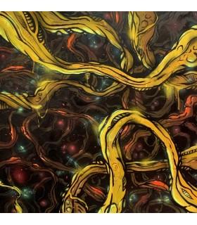 Peinture sur toile Trichomes par Mush street art