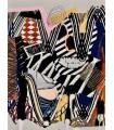 Collage numérique Composition VII par Stéphane Franck Berthelot