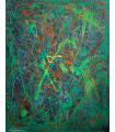 Peinture sur toile sans titre par Flavie Bébéar