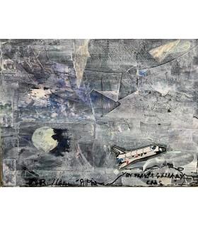 """Collage """"Nasa"""" par Flavie Bébéar"""