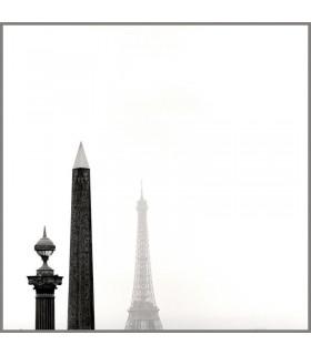 Photographie de la Tour Eiffel et Obélisque Paris par Kasra