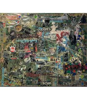 Collage La Guerre par Flavie Bébéar