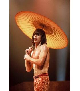 Photo couleur de MICK JAGGER par Jacques BENAROCH