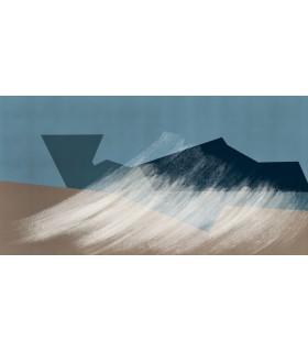 Dessin digital La vague par Stéphane Berthelot