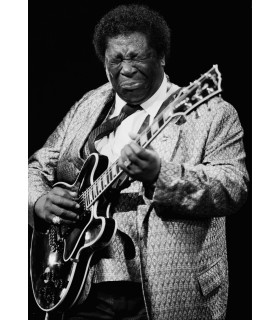 B.B. KING by Jacques Beneich