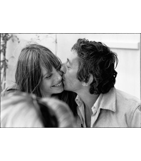 Serge Gainsbourg and Jane Birkin by Tony Frank