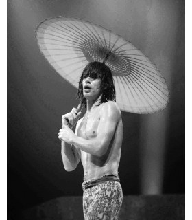 Photo of Mick Jagger by Jacques Benaroch