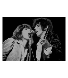 Photo of the Rolling Stones by Jacques Benaroch