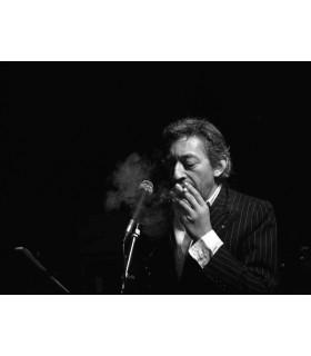 Serge Gainsbourg au Palace par Tony Frank
