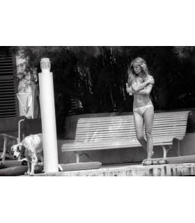 Brigitte Bardot by Francis Apesteguy