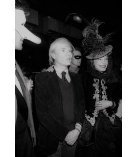 Photo d'Andy Warhol par Francis Apesteguy