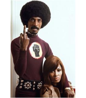 Ike and Tina Turner by Tony Frank