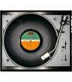 Vinyl Led Zeppelin Four symbols by Kai Schäfer
