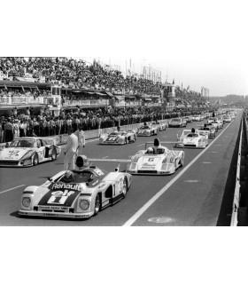 Le Mans 24 hours race by Francis Apesteguy