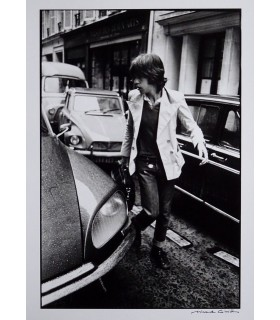 Mick Jagger by Michel Giniès