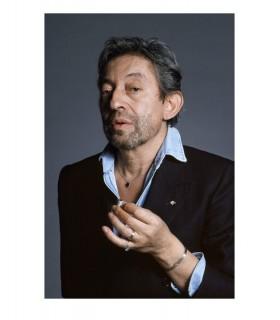Serge Gainsbourg, portrait studio, by Tony Frank