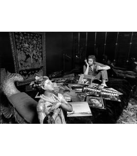 Serge Gainsbourg sur son lit by Tony Frank