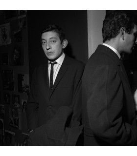 Serge Gainsbourg en 1962 by Tony Frank