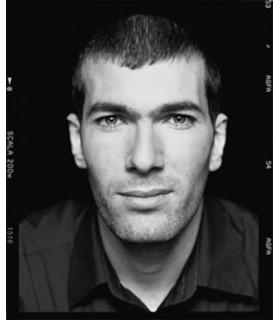 Zinedine Zidane by François Darmigny