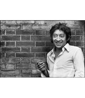 Serge Gainsbourg en 1969 by Tony Frank