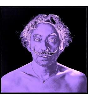 GAINSBOURG-DALI Purple par Roberto Battistini