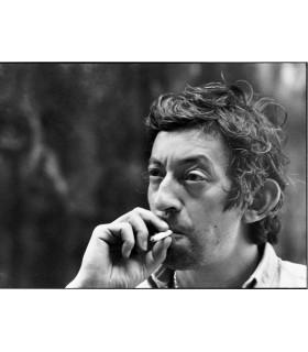 """Serge Gainsbourg """"portrait favori"""" par Tony Frank"""