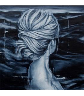 Peinture Miss P par Yannick Fournié