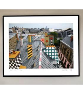 Edition Fine art digital Paris Memphis de Stéphane Franck Berthelot - SfB - Tour Montparnasse