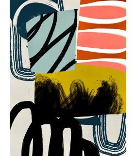 Collage numérique Composition I de Stéphane Franck Berthelot - SfB