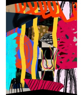 Composition digitale II de Stéphane Franck Berthelot