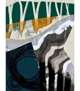 Collage numérique Composition III de Stéphane Franck Berthelot