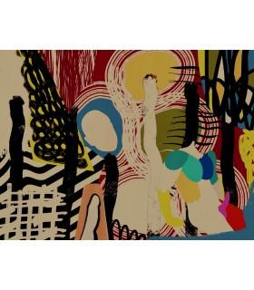 Collage numérique Composition IV de Stéphane Franck Berthelot
